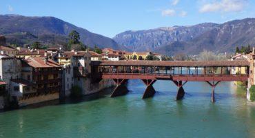 Bassano,Del,Grappa,,Italy,Brenta,River,Bridge,Creation,By,Andrea