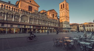 Cathedral,And,Main,Square,Of,Renaissance,Town,Ferrara