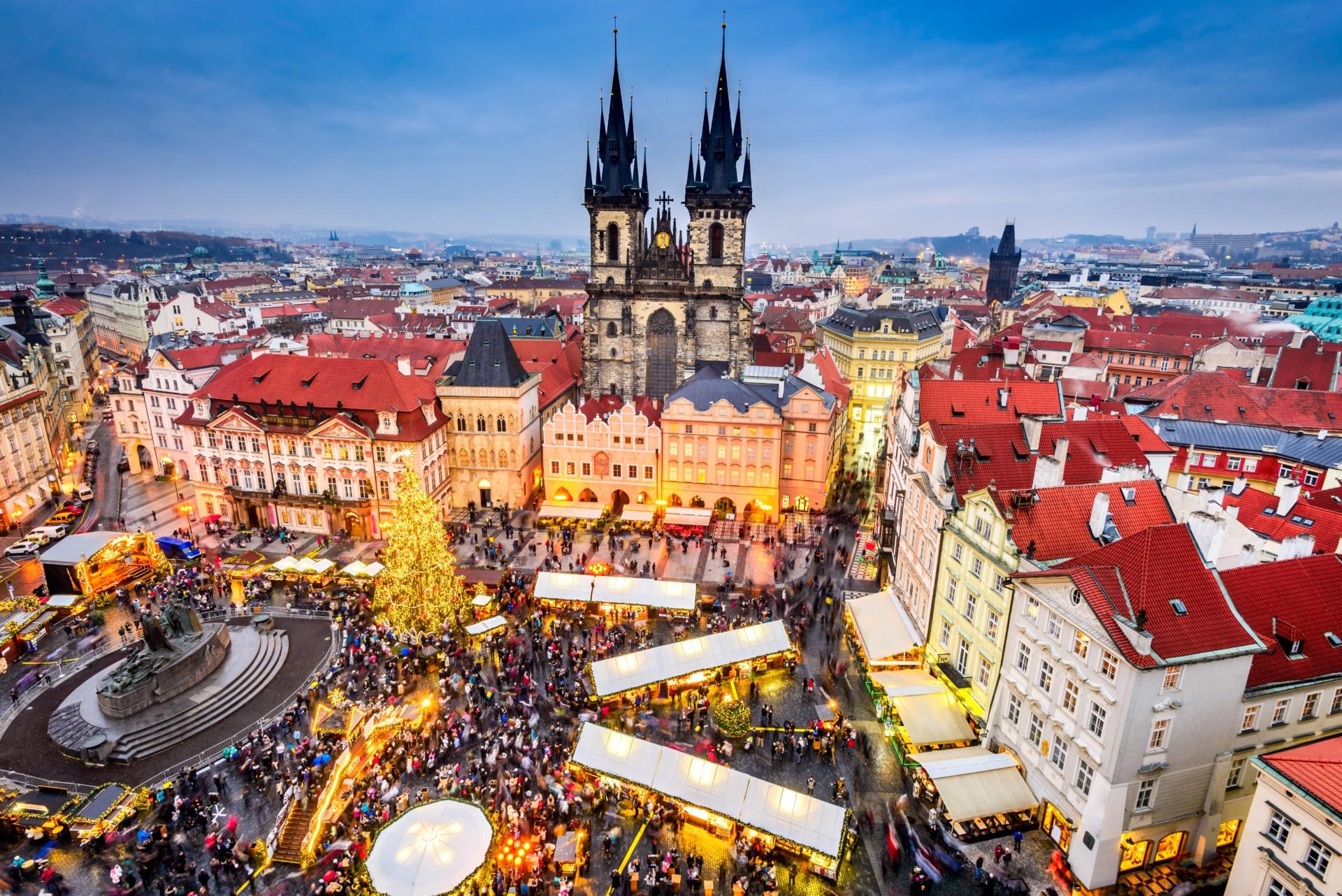 Praznična zlata Praga